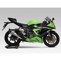 Slip-On Vaimennin Kawasaki ZX-6R 2009-2012 R-11 Single Exit - Yoshimura